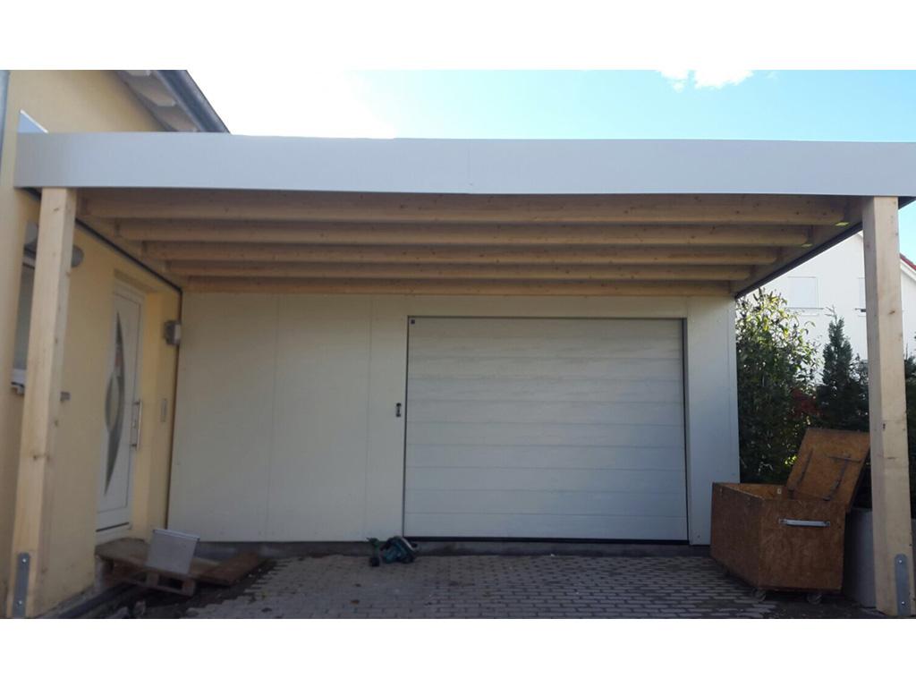 fertiggarage mit carport carports aus beton. Black Bedroom Furniture Sets. Home Design Ideas